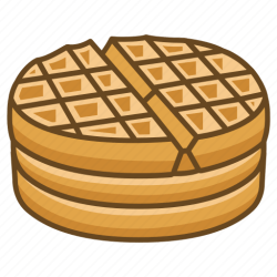 waffle clipart icon breakfast stack dessert icons transparent iron bakery vector bread svg buns bun easter cross 512px getdrawings clipground