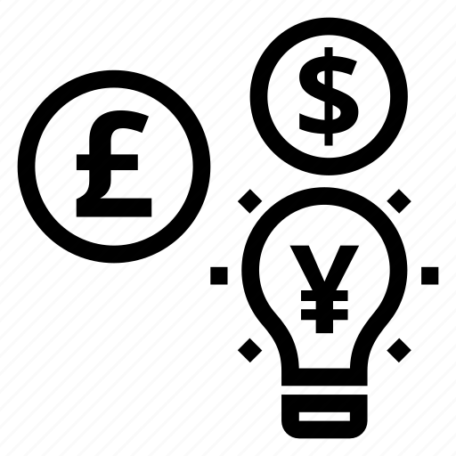 Cash, dollar, finance, idea, money, pound, yan icon