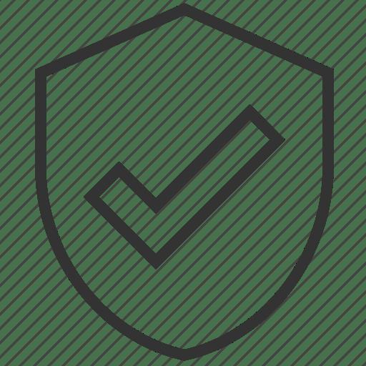 Sheild, success, tick, trust, verification, verified