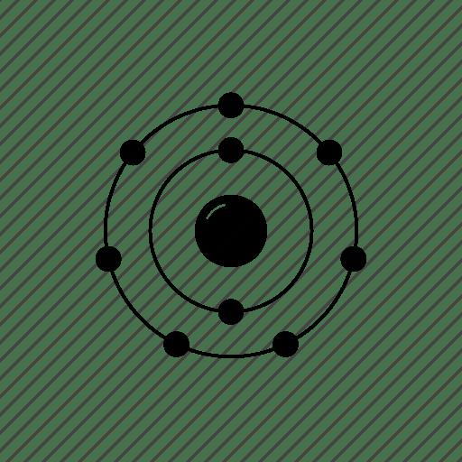 Atom, chemistry, electrons, element, fluorine, nucleus
