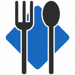food icon menu service restaurant cafe dinner icons place christ church editor open