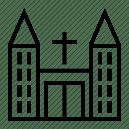 Building, church, mosque icon