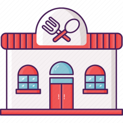 Restaurant Building Icon Png