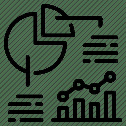 Analytics, business, chart, data, graph, pie chart