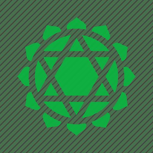 chakra symbols set spiritual