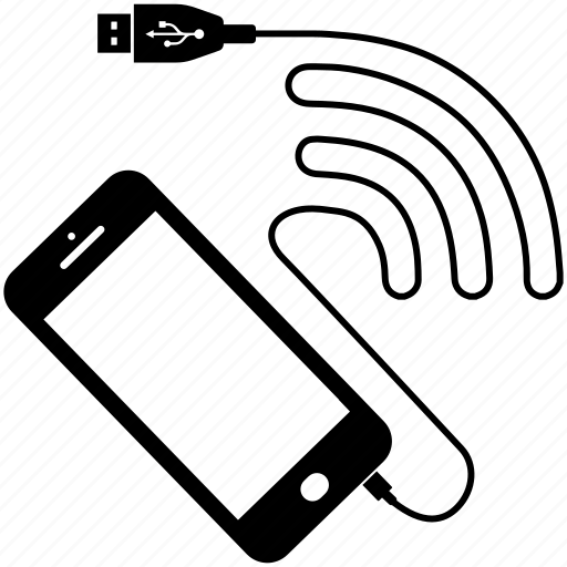 Application, cable, connection, data, internet, smartphone