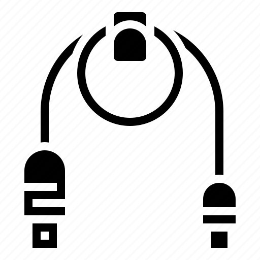 Cable, communication, link, technology, usb icon