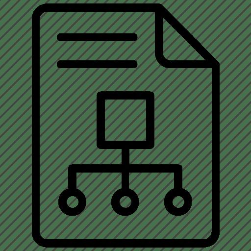 Flow diagram, process flow, project flow, project