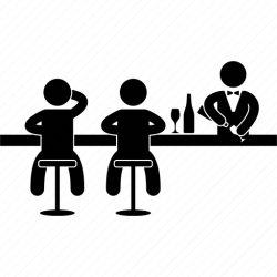 bar club icon bartender night alcohol disco pub icons bars drinking clubs party alcoholic 512px