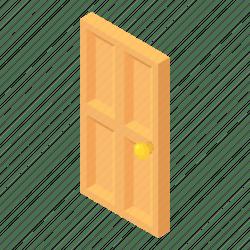 cartoon door doorway entrance icon iconfinder sc doors open