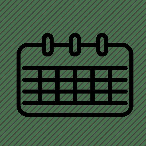 Calendar, day, schedule icon