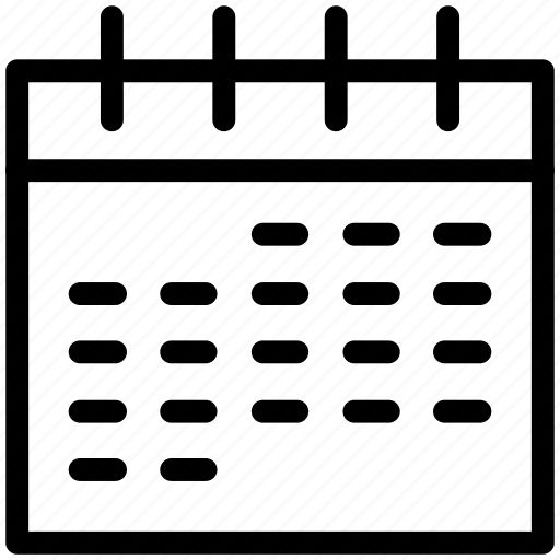Calendar, event, month, monthly calendar, organization