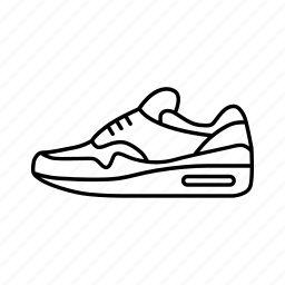 Apparel, footwear, nike, run, shoe, shoes, sneaker icon