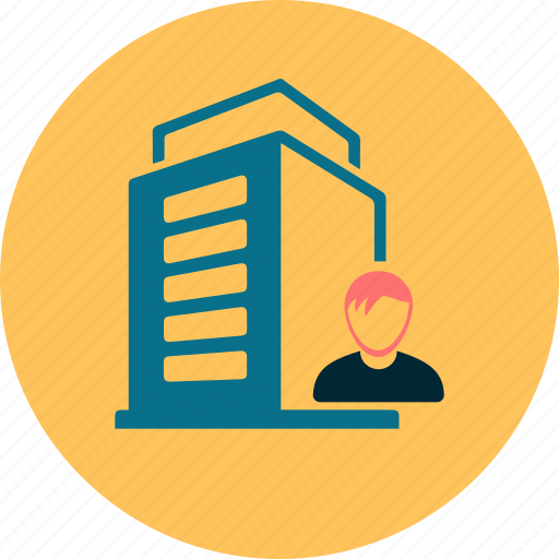 flat business icon by