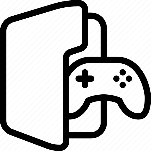 Document, file, folder, game, games icon