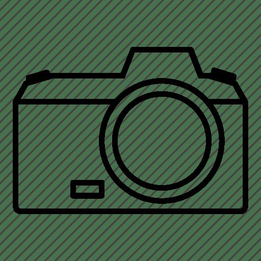 Camera, dslr, focus, gadget, lens, photo, photography icon