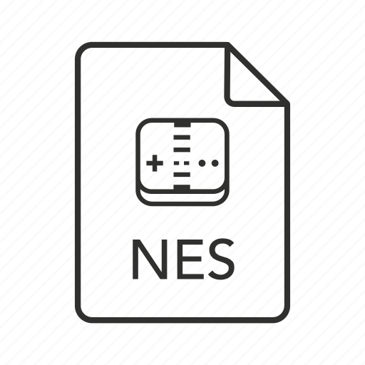 .nes, nes document, nes file, nes file icon, nintendo