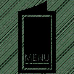 menu icon bill fare card direction cuisine list restaurant 512px