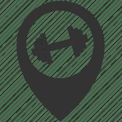 Center fitness icon Download on Iconfinder on Iconfinder