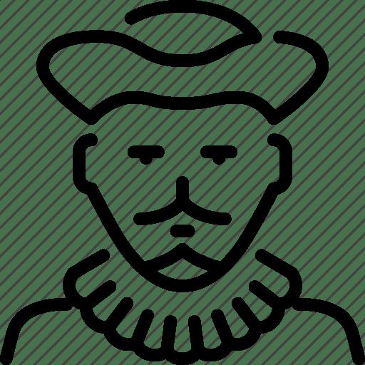 Baron, kingdom, nobleman, royalty icon