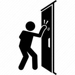 door knocking icon sc iconfinder st sound icons effect lay