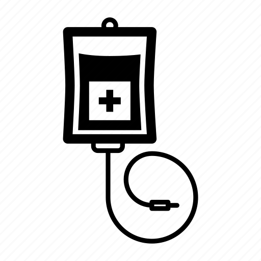 Blood, cartoon, fluid, infusion, medical, transfusion icon