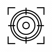 aim crosshair crosshairs target