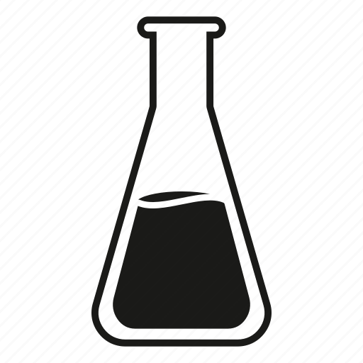 Beaker, chemistry, conical flask, erlenmeyer flask