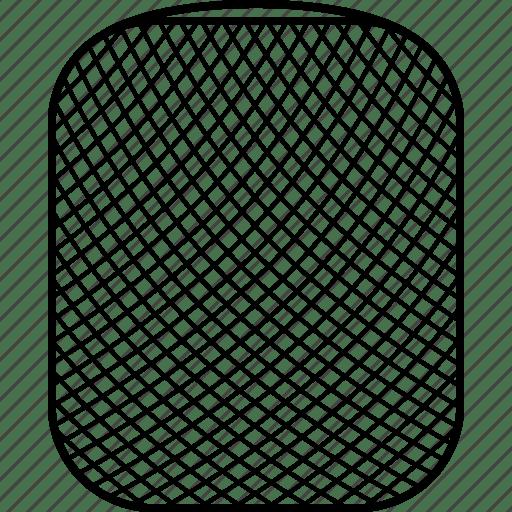 Apple, home, homepod, pod, siri, smart, speaker icon
