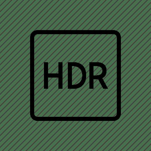 Camera, device, dynamic, high, option, range icon