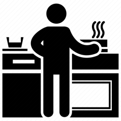 Chef chef cooking cooking meal food preparation making food icon Download on Iconfinder