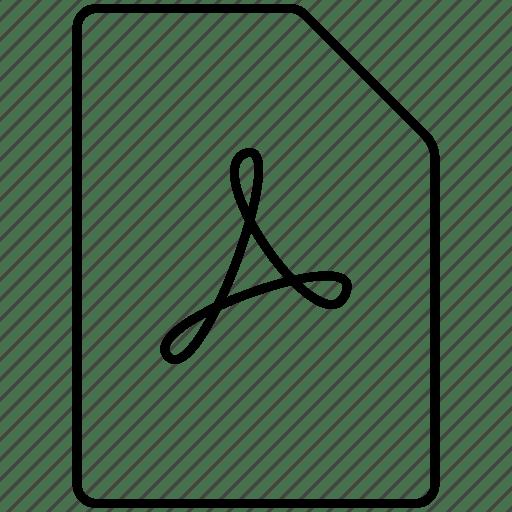 Acrobat, adobe, document, filetype, pdf icon