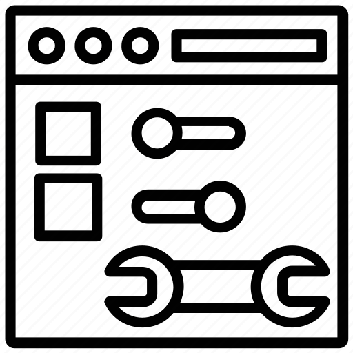 Configuration, options, preferences, settings, tools icon