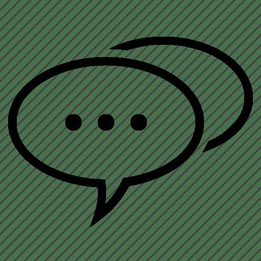 Bubble, comment, conversation, speech, speech bubble