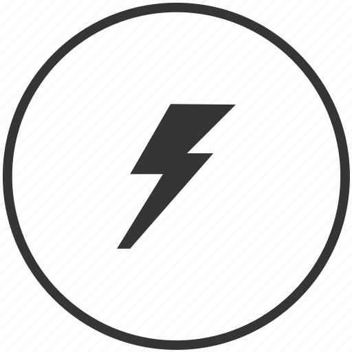 Electric, electricity, energy, power, safety icon