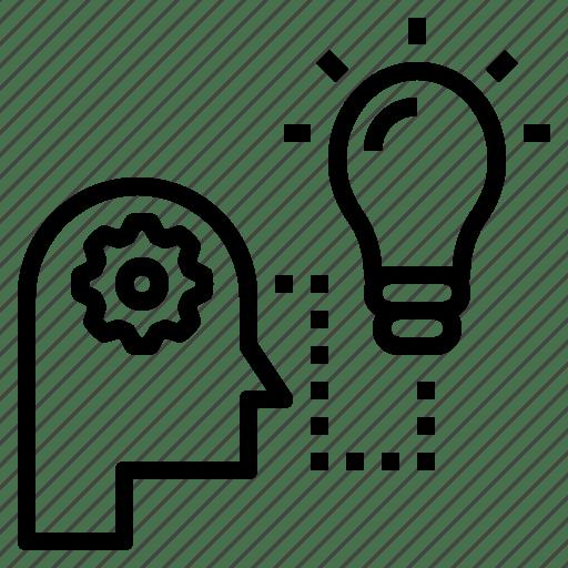 Idea, method, procedure, system, technique, think, way icon