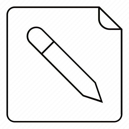 Book, note, notepad, pad, paper, pen, pencil icon