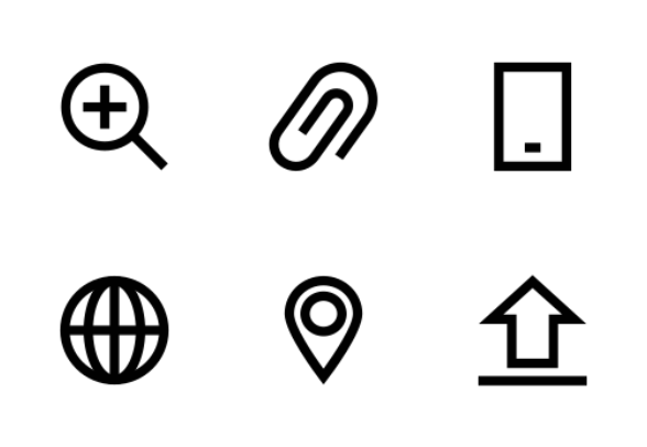Apple Watch Bold Line 1 icons by Creative Stall