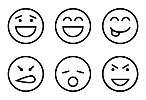 Smiley Vol 1 icons by Creative Stall