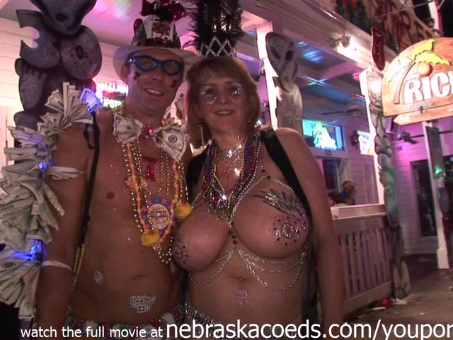 Mardi Gras Style Festival but in Key West Florida  Free