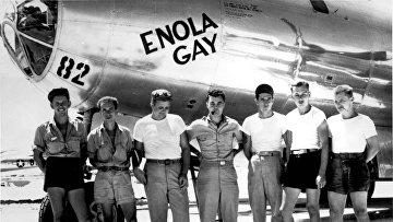 The crew of Enola Gay