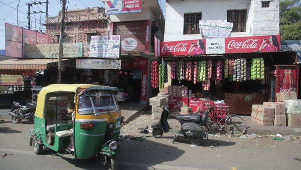 Одна из улиц города Агра. Архивное фото