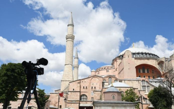 Turkey's State Council Annuls 1934 Ruling to Turn Hagia Sophia in Istanbul Into Museum