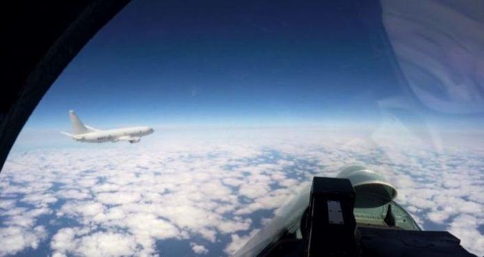 Russia's Su-27 Scrambled to Escort US Patrol Aircraft Over Black Sea