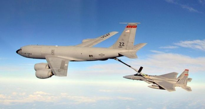 Listen: Taiwan Airliner Warns Off US Tanker Aircraft Flying Just 250 Feet Away Over South China Sea