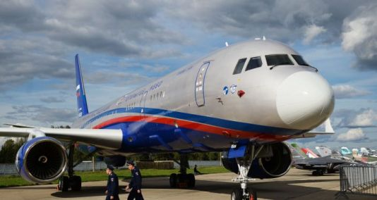 Russia's 'Open Skies' Plane Inspects Camouflage of Military Facilities in Crimea, Source Says