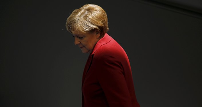 File photo of German Chancellor Angela Merkel attending a debate at the Bundestag, the lower house of parliament, in Berlin March 19, 2015