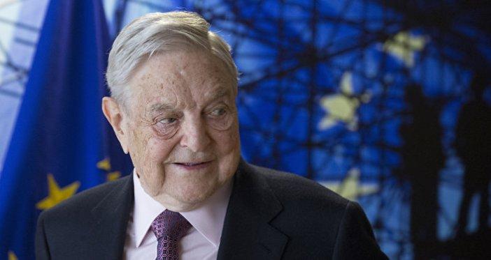 George Soros, fundador y presidente de Open Society Foundation, espera el comienzo de una reunión en la sede de la UE en Bruselas el jueves 27 de abril de 2017