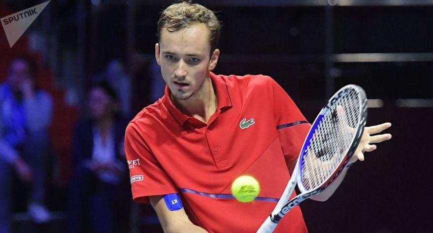 Russian Tennis Star Medvedev Wins Shanghai Masters, Beats ...