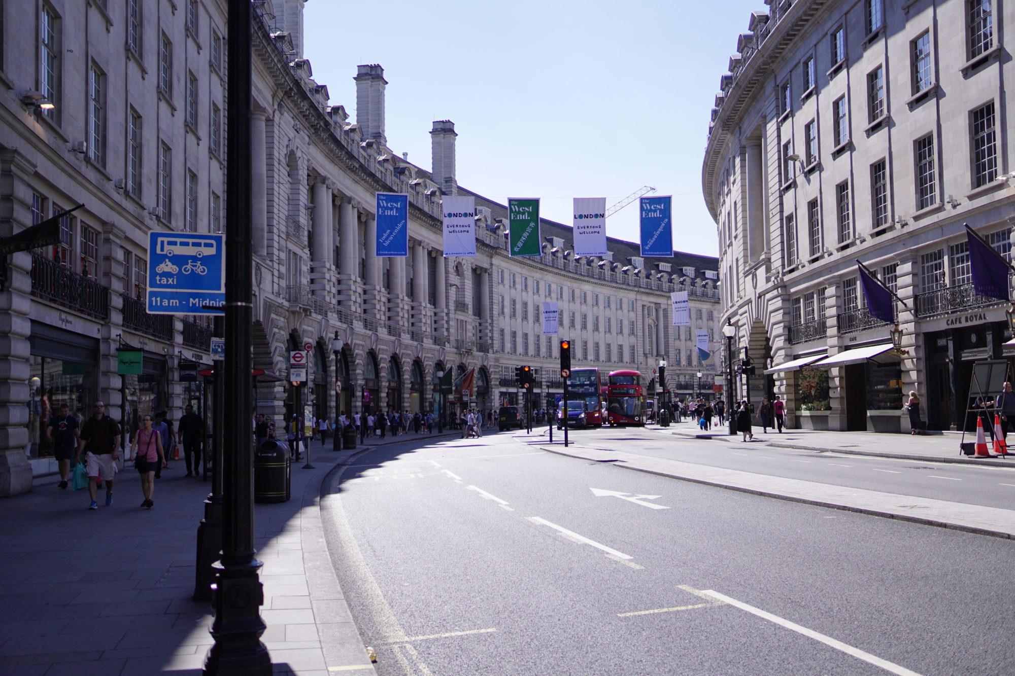 英國|倫敦景點|購物聖地攝政街~探訪金牌特務的基地 - 逸在旅行